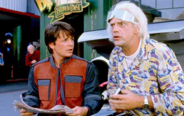 back to the future 2 - best time travel movies