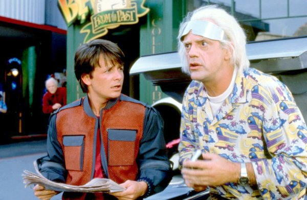 complex time travel Back to the future part 2