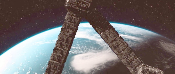 time trap triangle space station mars ending scene