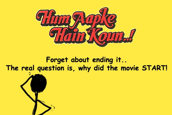 Hum Aapke Hain Kaun Abrupt Ending