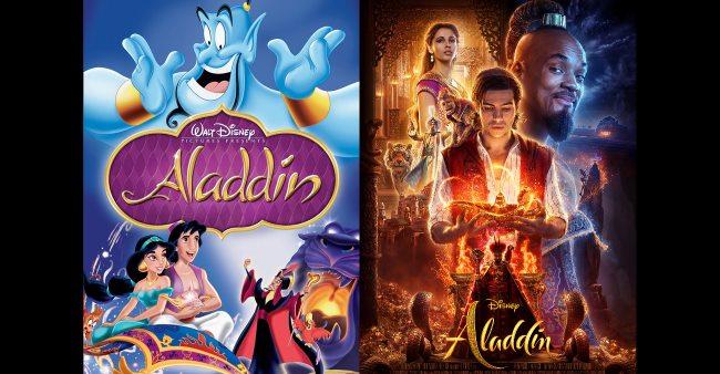 aladdin 1992 compared to aladdin 2019