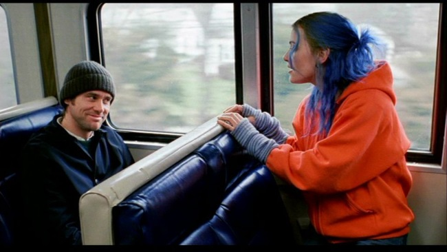 Blue Eternal Sunshine of the Spotless Mind
