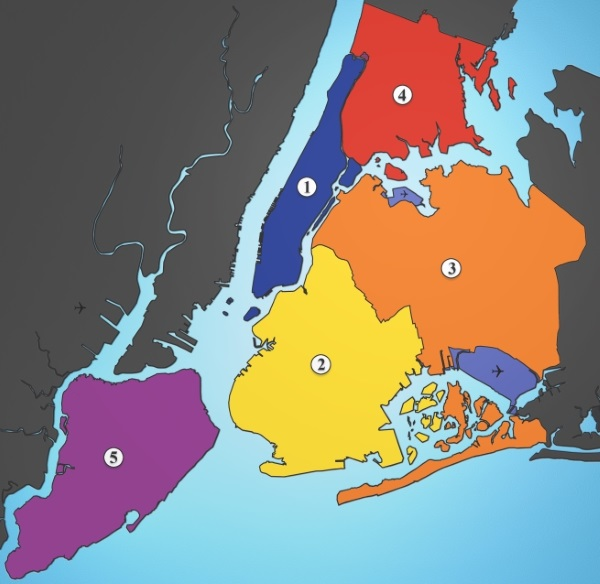 Boroughs New York