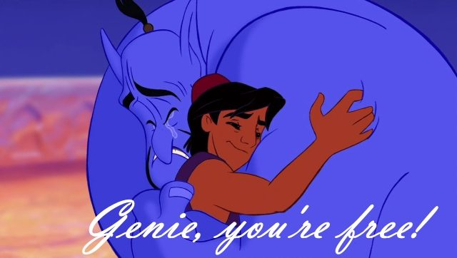 Genie You Are Free