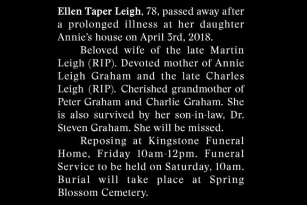 obituary news