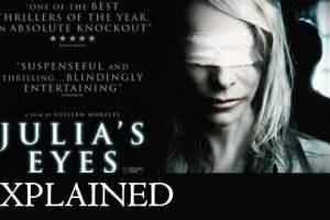 Los ojos de Julia / Julia's Eyes (2010) : Movie Plot Ending Explained