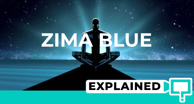 love death and robots zima blue explained