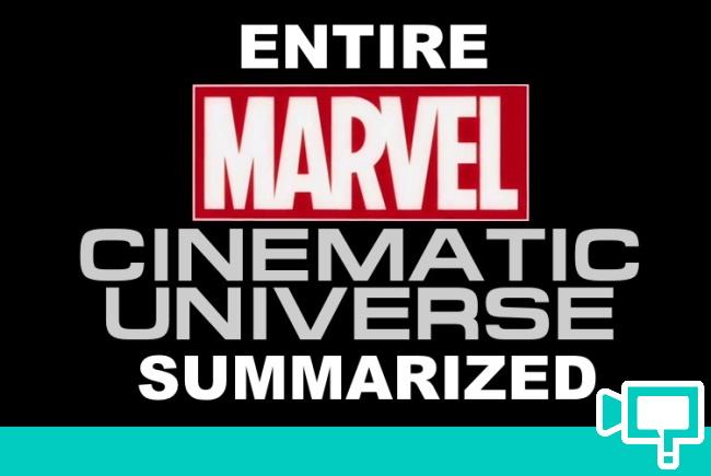 Entire Marvel movie summarized