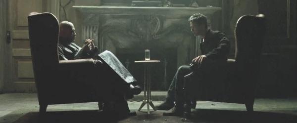 Neo meets morpheus