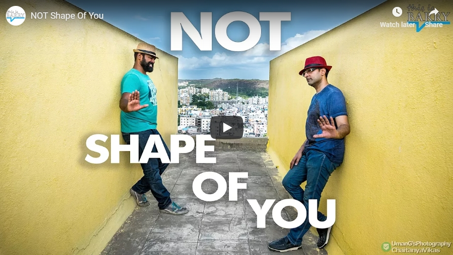 Not Shape Of You