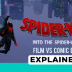 spider man into the spider verse comic book comparison