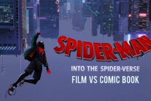 Into the Spider-Verse: Film and Comic Characters Comparison