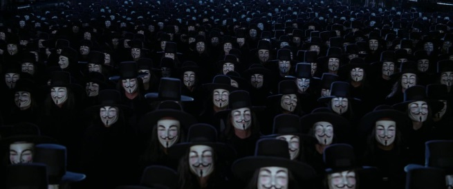 V For Vendetta Ending