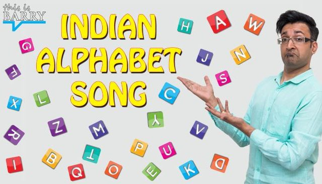 Indian Alphabet song