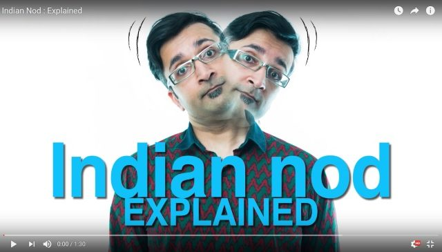 Indian Head Nod Explained