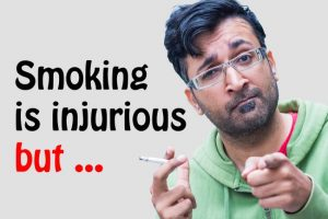 Smoking Is Injurious To Health But