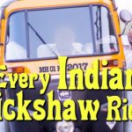 every indian auto rickshaw ride