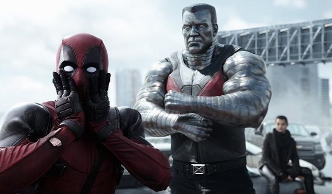 deadpool and colossus movie
